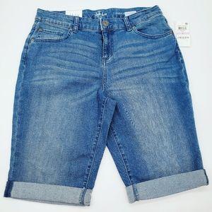 NWT Style & Co. Curvy Bermuda shorts size 6